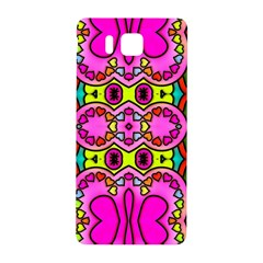Love Hearths Colourful Abstract Background Design Samsung Galaxy Alpha Hardshell Back Case by Simbadda