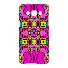 Love Hearths Colourful Abstract Background Design Samsung Galaxy A5 Hardshell Case  by Simbadda