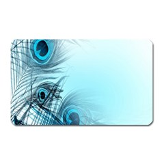 Feathery Background Magnet (rectangular) by Simbadda