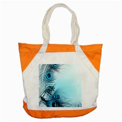 Feathery Background Accent Tote Bag by Simbadda
