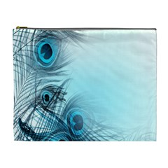 Feathery Background Cosmetic Bag (xl)