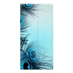 Feathery Background Shower Curtain 36  X 72  (stall)  by Simbadda