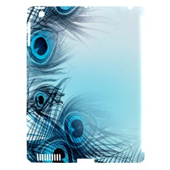 Feathery Background Apple Ipad 3/4 Hardshell Case (compatible With Smart Cover) by Simbadda