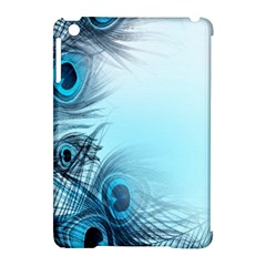 Feathery Background Apple Ipad Mini Hardshell Case (compatible With Smart Cover) by Simbadda