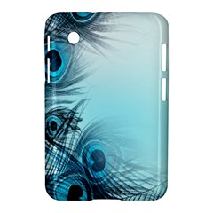 Feathery Background Samsung Galaxy Tab 2 (7 ) P3100 Hardshell Case