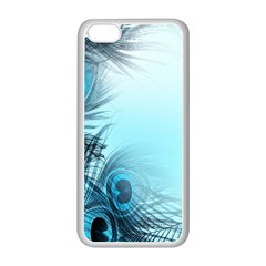 Feathery Background Apple Iphone 5c Seamless Case (white) by Simbadda