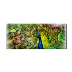 Peacock Digital Painting Cosmetic Storage Cases by Simbadda