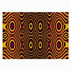 Vibrant Pattern Large Glasses Cloth
