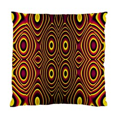 Vibrant Pattern Standard Cushion Case (one Side) by Simbadda