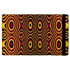 Vibrant Pattern Apple Ipad 3/4 Flip Case by Simbadda
