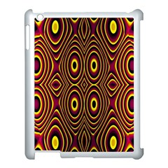 Vibrant Pattern Apple Ipad 3/4 Case (white) by Simbadda