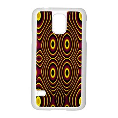 Vibrant Pattern Samsung Galaxy S5 Case (white)