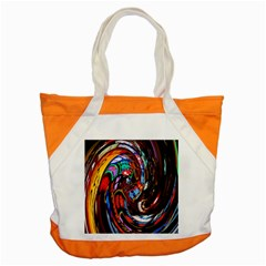 Abstract Chinese Inspired Background Accent Tote Bag by Simbadda