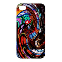Abstract Chinese Inspired Background Apple Iphone 4/4s Premium Hardshell Case by Simbadda