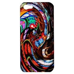 Abstract Chinese Inspired Background Apple Iphone 5 Hardshell Case by Simbadda