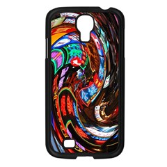 Abstract Chinese Inspired Background Samsung Galaxy S4 I9500/ I9505 Case (black)