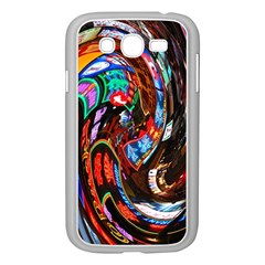 Abstract Chinese Inspired Background Samsung Galaxy Grand Duos I9082 Case (white) by Simbadda