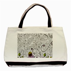 Abstract Pattern Basic Tote Bag (two Sides) by Simbadda