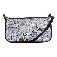 Abstract Pattern Shoulder Clutch Bags by Simbadda