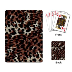 Background Fabric Animal Motifs Playing Card by Simbadda