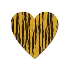 Seamless Fur Pattern Heart Magnet by Simbadda