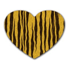 Seamless Fur Pattern Heart Mousepads by Simbadda