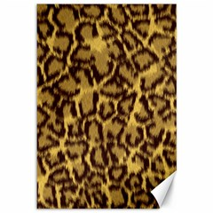 Seamless Animal Fur Pattern Canvas 12  X 18   by Simbadda