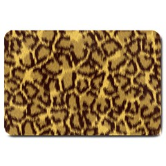Seamless Animal Fur Pattern Large Doormat  by Simbadda