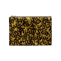 Seamless Animal Fur Pattern Cosmetic Bag (medium)