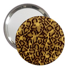Seamless Animal Fur Pattern 3  Handbag Mirrors by Simbadda