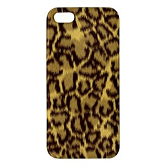 Seamless Animal Fur Pattern Iphone 5s/ Se Premium Hardshell Case by Simbadda