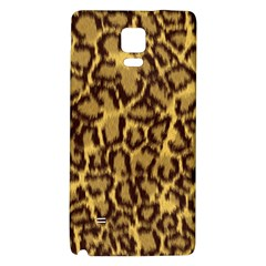 Seamless Animal Fur Pattern Galaxy Note 4 Back Case by Simbadda