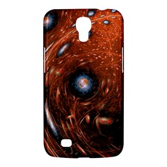 Fractal Peacock World Background Samsung Galaxy Mega 6 3  I9200 Hardshell Case by Simbadda