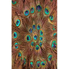 Peacock Pattern Background 5 5  X 8 5  Notebooks