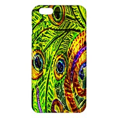 Glass Tile Peacock Feathers Iphone 6 Plus/6s Plus Tpu Case by Simbadda