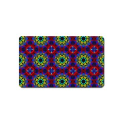 Abstract Pattern Wallpaper Magnet (name Card) by Simbadda