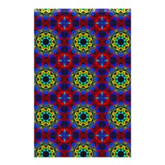 Abstract Pattern Wallpaper Shower Curtain 48  X 72  (small)  by Simbadda