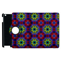 Abstract Pattern Wallpaper Apple Ipad 3/4 Flip 360 Case by Simbadda