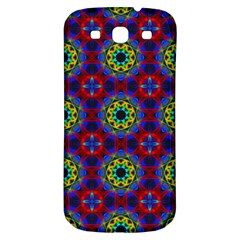 Abstract Pattern Wallpaper Samsung Galaxy S3 S Iii Classic Hardshell Back Case by Simbadda