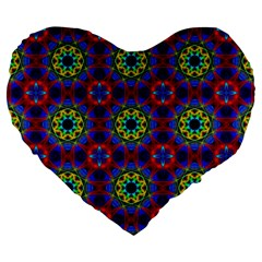 Abstract Pattern Wallpaper Large 19  Premium Heart Shape Cushions