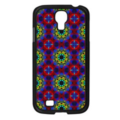 Abstract Pattern Wallpaper Samsung Galaxy S4 I9500/ I9505 Case (black)