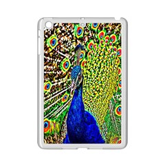 Graphic Painting Of A Peacock Ipad Mini 2 Enamel Coated Cases by Simbadda