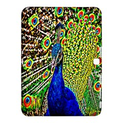 Graphic Painting Of A Peacock Samsung Galaxy Tab 4 (10 1 ) Hardshell Case  by Simbadda