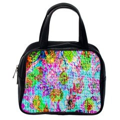 Bright Rainbow Background Classic Handbags (one Side) by Simbadda