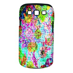 Bright Rainbow Background Samsung Galaxy S Iii Classic Hardshell Case (pc+silicone)