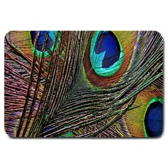 Peacock Feathers Large Doormat