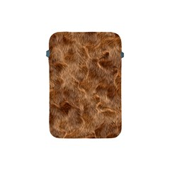 Brown Seamless Animal Fur Pattern Apple Ipad Mini Protective Soft Cases by Simbadda