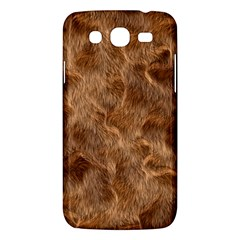 Brown Seamless Animal Fur Pattern Samsung Galaxy Mega 5 8 I9152 Hardshell Case  by Simbadda