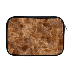 Brown Seamless Animal Fur Pattern Apple Macbook Pro 17  Zipper Case by Simbadda