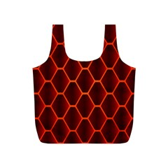 Snake Abstract Pattern Full Print Recycle Bags (s)  by Simbadda